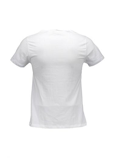 Collezione Beyaz Erkek Tshirt Beyaz